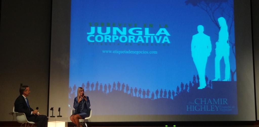 Presentación del Libro Cómo Sobrevivir en la Jungla Corporativa: Etiqueta de Negocios